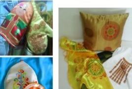 Текстиль в якутском национальном стиле